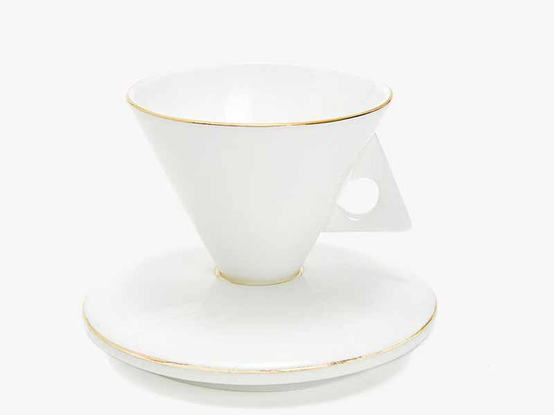 Cup and saucer set from Zara Home in Cairo available at Mall of Egypt
