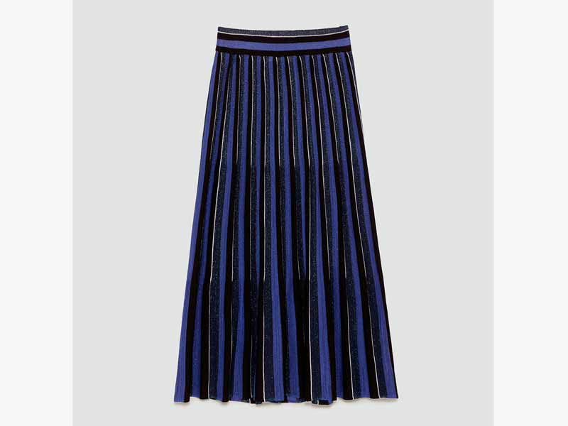 Pleated skirt at Zara in Egypt at Mall of Egypt