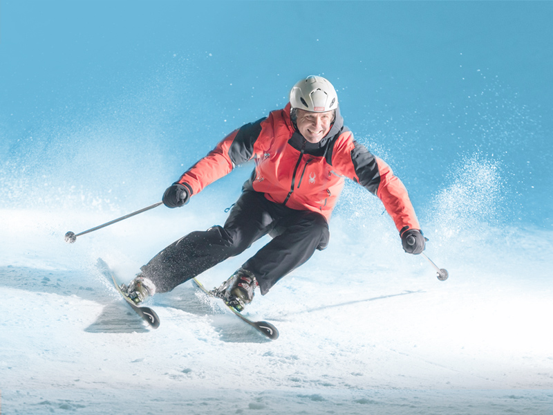 Whiz down the slopes at Ski Egypt