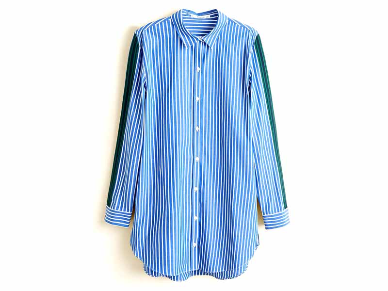 Shirt by Mango, available at Mall of the Emirates and City Centres