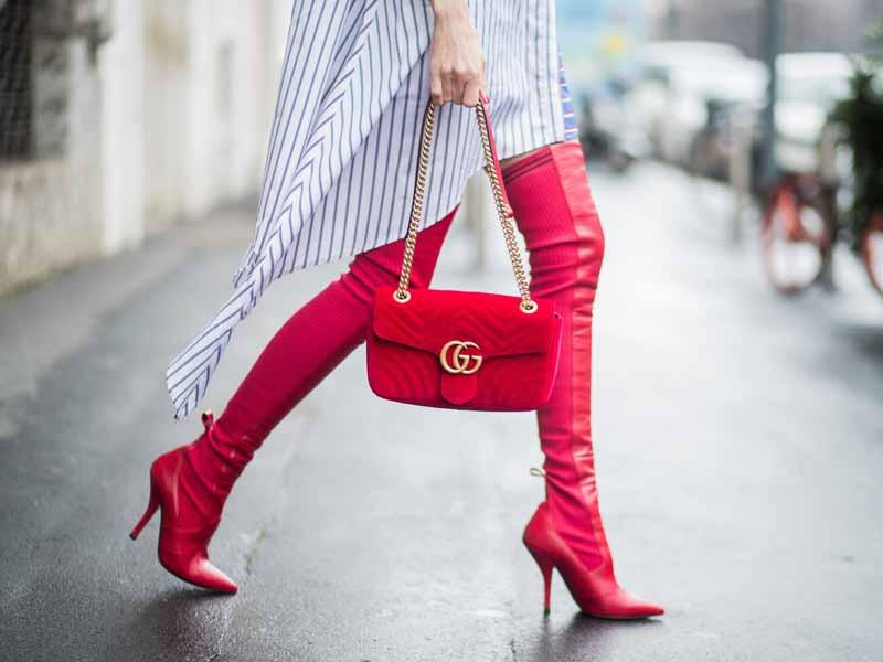 bdaf95b78a6fe أحدث صيحات الأزياء  أحذية بتصميمات رائعة للموسم الجديد