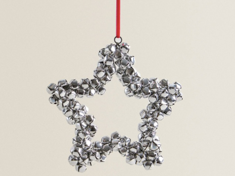 Sleigh bell star, LE420, Zara Home, visit Mall of Egypt