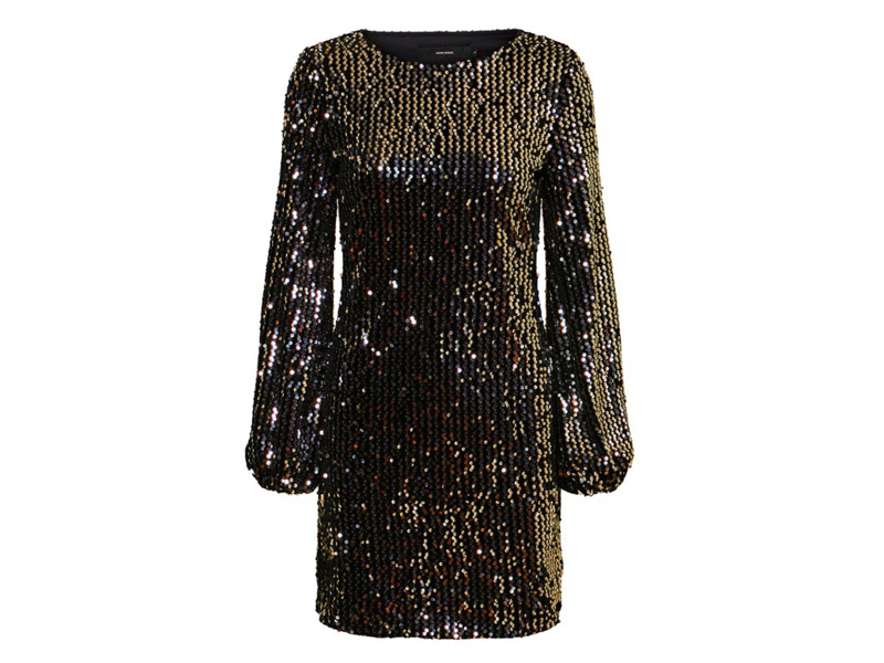Sequinned dress, LE1,145, Vero Moda, visit Mall of Egypt