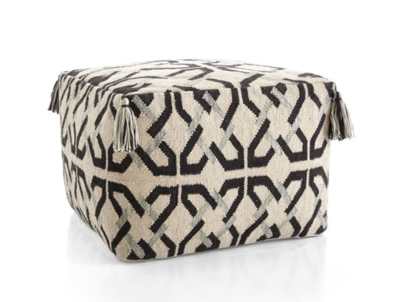 Printed outdoor pouffes by Crate & Barrel at City Centre Mirdif