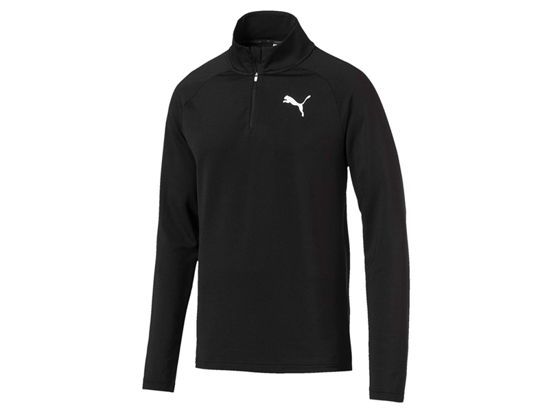 Active Men's Half-Zip Sweater, LE619, Puma, visit Mall of Egypt