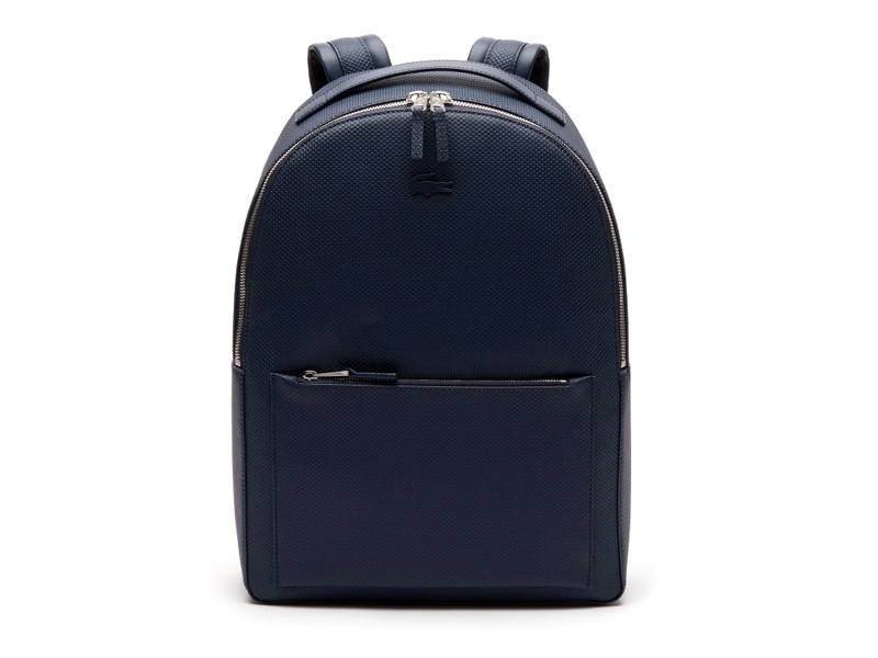 Men's Chantaco Soft Leather Zip Backpack, LE7,111, Lacoste, visit Mall of Egypt