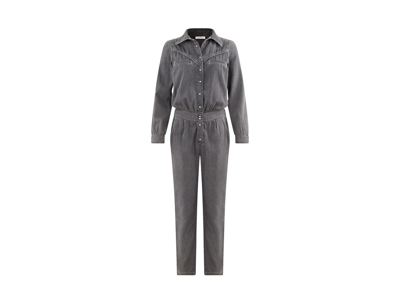 Denim jumpsuit by Promod, visit Mall of Egypt