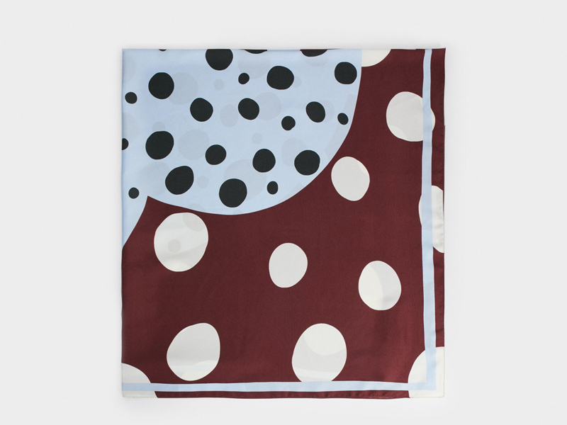Polka dot scarf from Parfois, visit Mall of Egypt