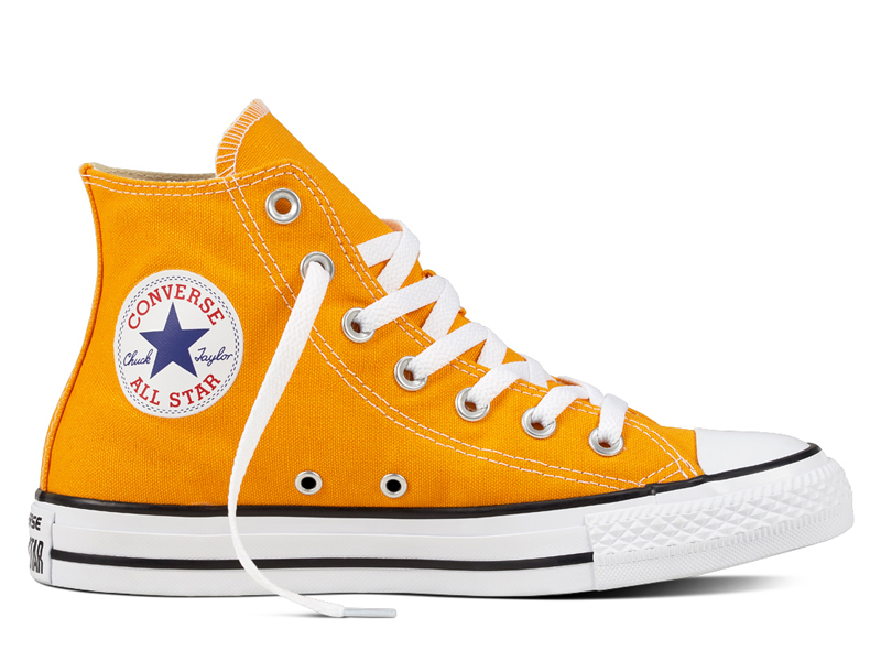 Orange Chuck Taylor high top by Converse, visit Mall of Egypt