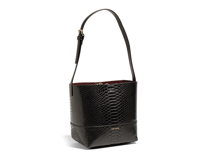 Snake-effect bucket bag, Karen Millen, visit Mall of Egypt