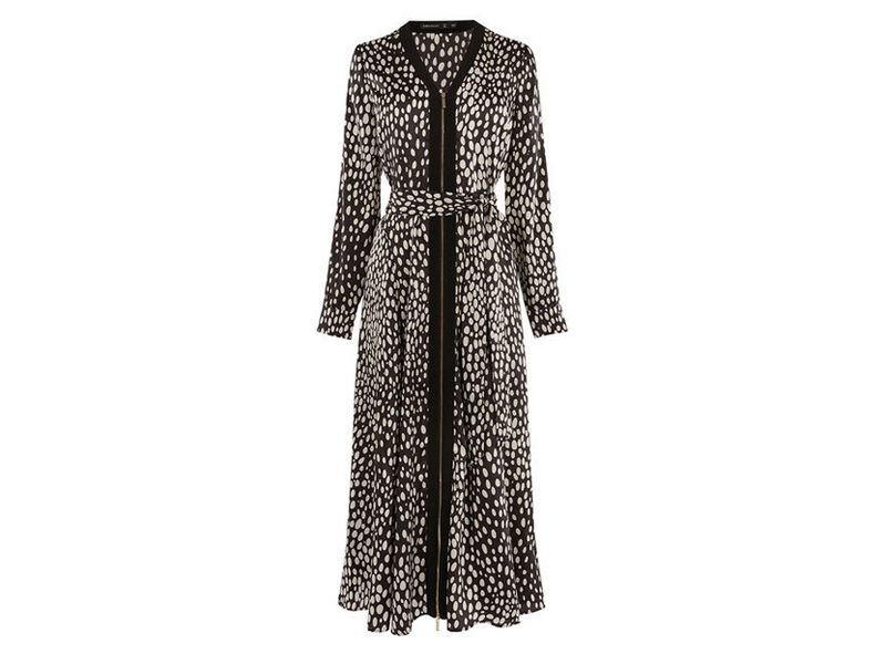 Cheetah midi-dress, Karen Millen, visit Mall of Egypt