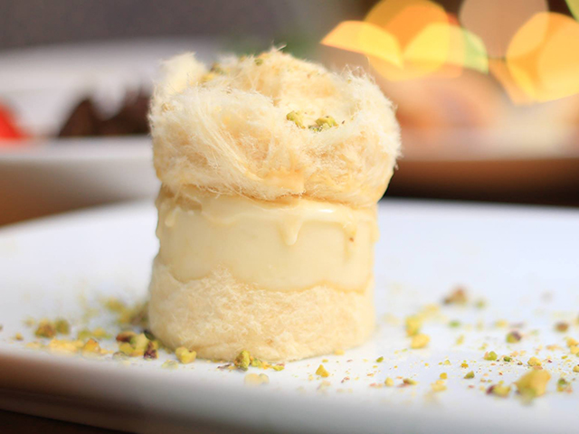 Ghazal Beirut defies the norm by combining mastic with halawet sha'ar at Mall of Egypt
