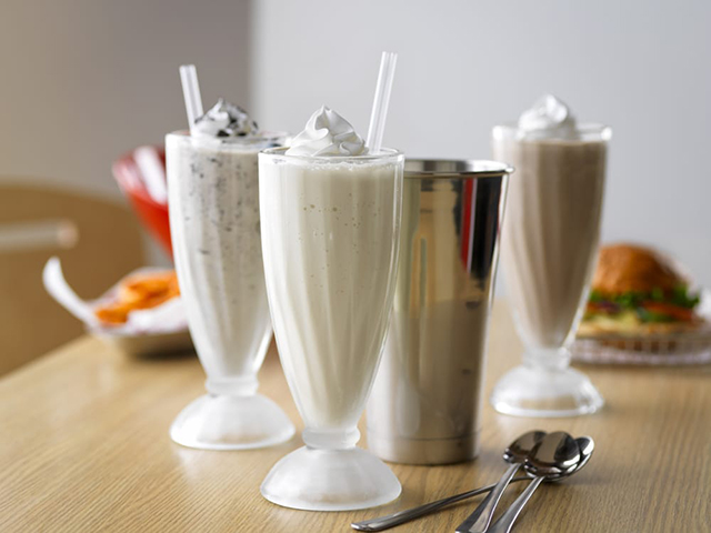 To-die-for Butter Finger Milkshakes from Smash Burger at Mall of Egypt