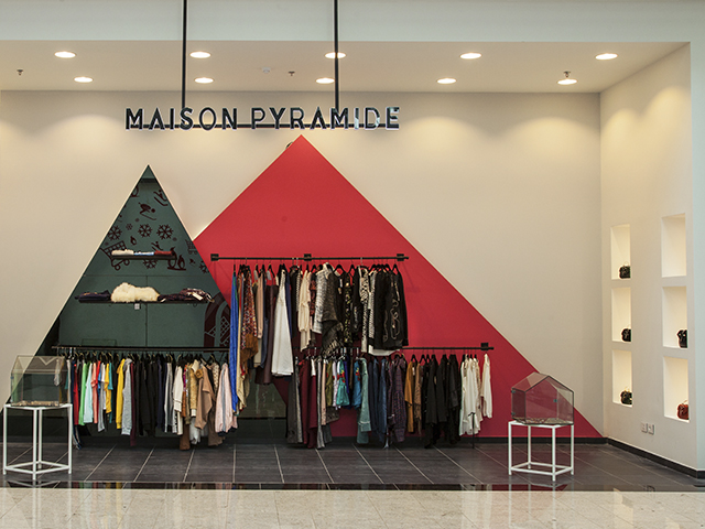 THE MAISON PYRAMIDE Family Have Moved into Mall of Egypt