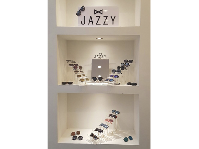 Jazzy offers a variation of eyewear including funky sunglasses and shades