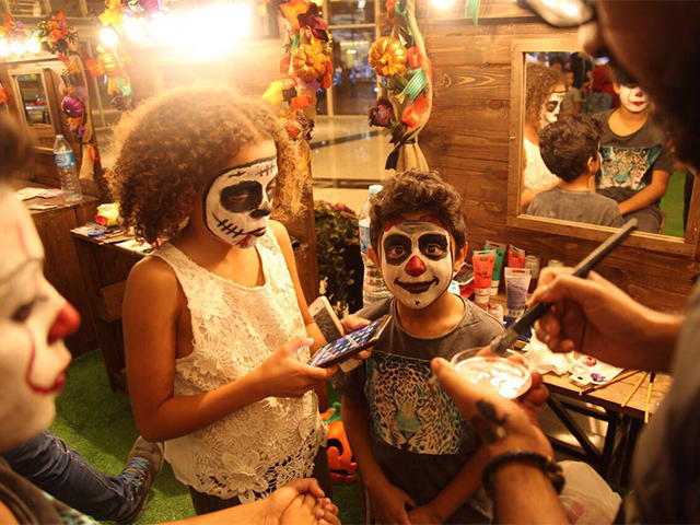 Experience Halloween with Mall of Egypt's crafted haunted house.